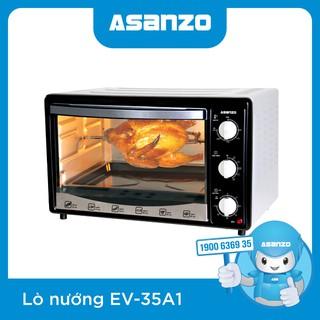 Lò nướng thùng Asanzo EV-35A1 [Công Suất 1500W, Dung Tích 35L] - Hàng Chính Hãng Bảo Hành 12 Tháng - EV-35A1 thumbnail