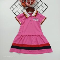 Đầm polo cho bé gái hàng cao cấp