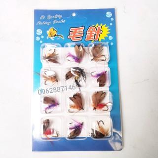 mồi câu cá mồi lure mồi bướm lông vũ siêu nhậy - mồi câu cá mồi lure mồi bướm lông vũ siêu nhậ thumbnail