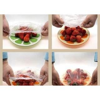 Túi 100 màng bọc thực phẩm bo chun đa năng - 100c thumbnail