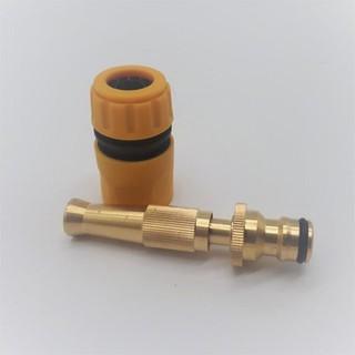 Combo 2 Vòi xịt,nước rửa xe, tưới cây - vòi xịt tăng áp thumbnail