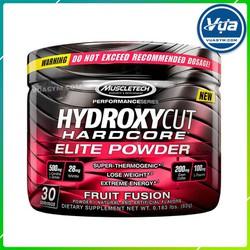 Giảm Cân Đốt Mỡ MuscleTech - Hydroxycut Hardcore Elite Powder (30 lần dùng)