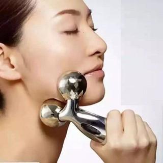Dụng Cụ Cây Lăn Massage Mát Xa Mặt 3D Hàn Quốc Nâng Cơ Mặt - GDMC141 thumbnail