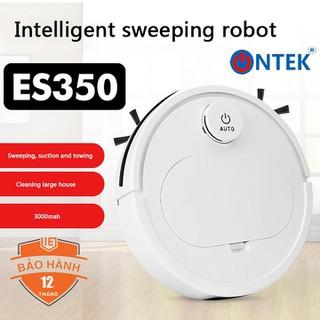 Robot hút bụi, lau sàn Thông Minh OnTek ES350 Pro Cao Cấp 3 Trong 1, Cảm Biến Chạm, Chống Va Chạm Thông Minh, Có Led - ROBOT HÚT BỤI ES350 thumbnail