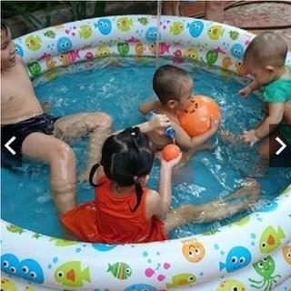 Bể Bơi Phao 3 Tầng 3 Chi Tiết Cho Bé (Tặng Kèm Bóng + Phao) - GDMC47 thumbnail