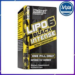 Giảm Cân Đốt Mỡ Nutrex - Lipo-6 Black Intense (60 viên)