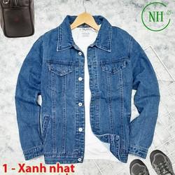 Áo khoác jean nam  cá tinh trẻ trung - NH Shop