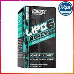 Giảm Cân Đốt Mỡ Nutrex - Lipo-6 Black Hers UC (60 viên)