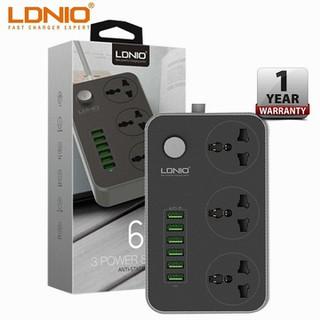 Ổ cắm điện đa năng LDNIO 6 cổng sạc chống cháy, nổ - SC3604 dây 2 mét - Cây Đu ĐỦ 17 thumbnail
