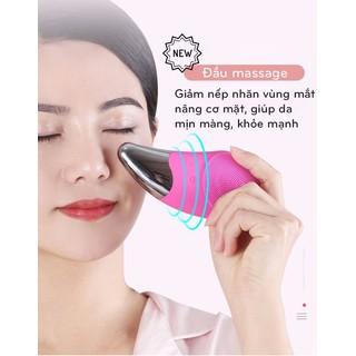 Máy rửa mặt massage nâng cơ máy rửa mặt rung sóng âm máy rửa mặt nội địa Trung máy rửa mặt silicon máy rửa mặt giá rẻ - Máy rửa mặt massage nâng cơ máy rửa mặt rung thumbnail