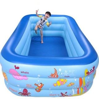 Bể bơi 3 tầng 1,3m hàng đẹp ( đảm bảo loại 1) - baby43 thumbnail