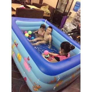 Bể bơi cho bé 2 tầng 1,2m - hàng tốt ( đảm bảo loại 1) - baby42 thumbnail