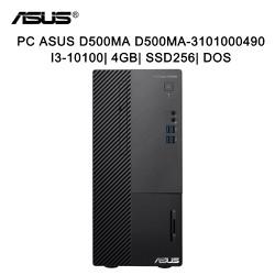 Máy tính để bàn PC Asus D500MA D500MA-3101000490 i3-10100/ 4Gb/ SSD256/ Dos - Hàng chính hãng new