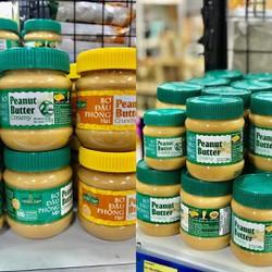 Bơ đậu phộng Bơ lạc 340 gam Nguyên liệu làm bánh Golden Farm