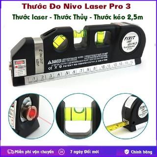 Thước Đo Nivo Laser - Thước thủy Nivo laser đa năng, Cân mực laser, thước kéo - Thước đo Nivo laser thumbnail
