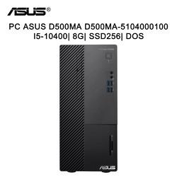 Máy tính để bàn PC ASUS D500MA D500MA-5104000100 i5-10400/ 8G/ SSD256/ Dos