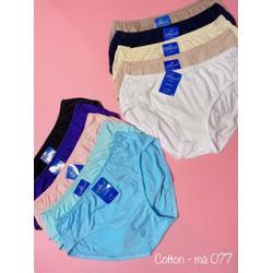 Combo 5 quần lót nữ BIG SIZE Thun cotton  Cạp cao Hàng Việt Nam(Từ 60kg đến 110kg) Hàng Việt Nam