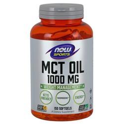 MCT Oil 1000mg - Hỗ trợ chuyển hóa các loại chất béo khó tiêu (dự trữ) trong cơ thể chuyển hóa thành năng lượng, Đốt cháy mỡ thừa - Giảm cân hiệu quả cho người luyện tập thể thao (150 Viên)