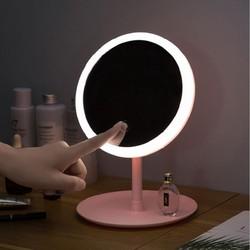 Gương Soi Trang Điểm Có Đèn Led Để Bàn