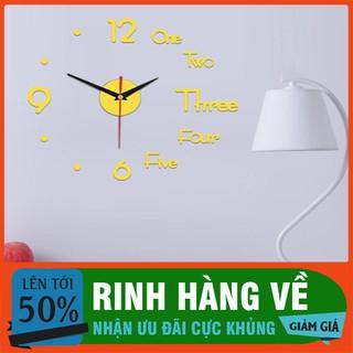 Đồng hồ dán tường Đồng hồ 3D dán tường - DHDTTT-1 thumbnail