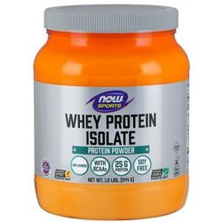 Whey Protein Isolate, Unflavored Powder - Bổ sung 25g Đạm chất lượng cao có các axit amin chuỗi nhánh (BCAAs) có khả năng hấp thụ nhanh và dễ tiêu hóa dành cho người luyện tập thể thao (544gram)