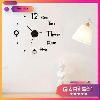Đồng hồ dán tường - Đồng hồ - DHDTTT-1 thumbnail