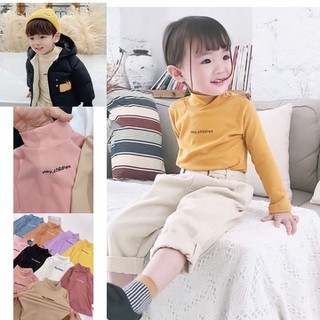 Áo trẻ em thu đông vải thun nỉ giữ nhiệt [THOẢI MÁI XEM HÀNG] - KID-AGN thumbnail