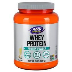 Whey Protein, Creamy Vanilla Powder Bổ sung 26g Protein cho người luyện tập thể thao, được xử lý và chiết xuất từ nguồn đạm Whey chất lượng cao để tối ưu khả năng hấp thu 5,900mg Axit amin (BCAA) và 460mg Glutamine (907 gram)