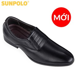 Giày tây nam tăng chiều cao tăng cao 7 cm chất da bò cao cấp