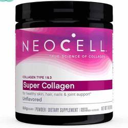 Collagen dạng bột NEOCELL SUPER 6600mg COLLAGEN +C type 1&3 Non-GMO + Gluten Free của Mỹ hộp 198gr vs 398gr