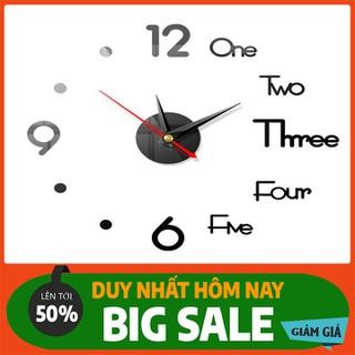 Đồng hồ treo tường - Đồng hồ trang trí- đồng hồ 3d - DHDTTT-1 thumbnail