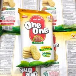 Bánh Gạo Mặn One One Vị Bò Nướng Gói 150G