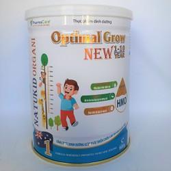 Sữa mát cho trẻ thấp còi tăng trưởng chiều cao, trí não bổ sung HMO Natukid lon 900g