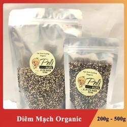Hạt Diêm Mạch Quinoa Organic Nhập Khẩu Mỹ Loại Mix Hữu Cơ Giá Tốt Túi 200g - 500g