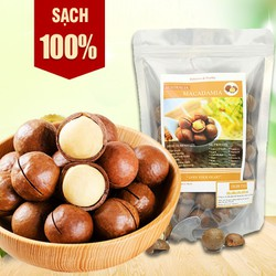 [HÀNG NHẬP KHẨU] Hạt Macca Sấy Khô Tự Nhiên HPD (Loại 1- Nhập Úc)*hạt macca ngon bổ dưỡng đóng gói 500g