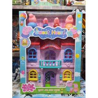 5806A - đồ chơi nhà búp bê heo peppa lắp pin có đèn và âm thanh - 00924 thumbnail