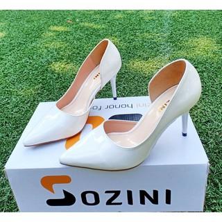 [ho tro ship] [duoc xem hàng] giày cao gót 7cm Sozini hở eo sieu xinh - SN7.064 thumbnail