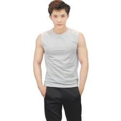 Áo thun thể thao 3 lỗ nam Taki Taki thun cotton thoáng mát phù hợp tập gym thể thao mặc nhà