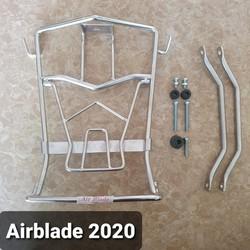 Baga giữa xe Airblade 2020 chất liệu inox 10 li bền đẹp chắc chắn