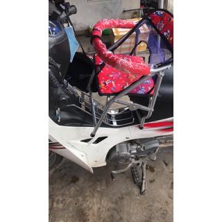 Ghế ngồi xe máy cho bé xe số các loại - GHẾ NGỒI XE SỐ CHO BÉ thumbnail
