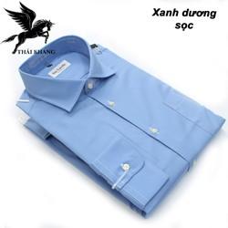 Áo sơ mi nam dài tay công sở form cơ bản vải dày cotton cao cấp size từ 50-85kg