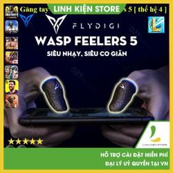Flydigi Wasp Feelers 5 -  Găng tay chơi game PUBG, Liên quân, chống mồ hôi, cực nhạy, co giãn cực tốt