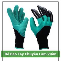 Bao Tay Làm Vườn Có Vuốt Chuyên Dùng - giúp bảo vệ tay khi làm vườn, vệ sinh và độ bền cao