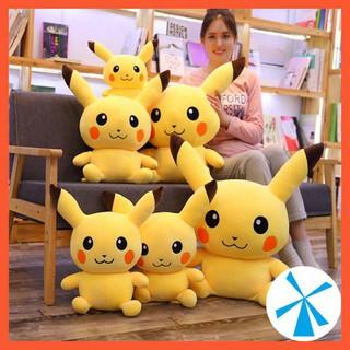Gấu bông pokemon pikachu đầu to dễ thương - gb23cm thumbnail
