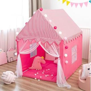 Lều công chúa, hoàng tử khung kim loại chắc chắn S3 size lớn cho bé - Lều S3 thumbnail