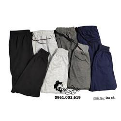 40-100kg Quần jogger nam nữ thun da cá/nỉ bigsize thể thao/gym