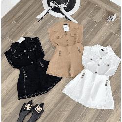 Set áo và quần ngắn nữ xinh dạo phố