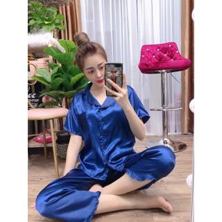 Đồ bộ mặc nhà chất liệu PHI BÓNG mềm mịn - PHI55.1 thumbnail