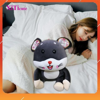 Gối ôm cho bé thú nhồi bông chuột Hamster dùng để làm gối ôm, quà tặng người thương, đồ chơi cho bé hoặc vật trang trí [ĐƯỢC KIỂM HÀNG] - 41750671 thumbnail