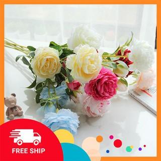 HOA HỒNG - HOA LỤA - Hoa Trang Trí Ngày Tết - hoa lụa tết thumbnail